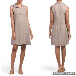 Lungo L'arno Linen Zip Dress